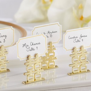 Double Happiness Place Card Holders