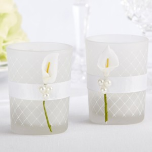 Calla Lily Tealight Holders