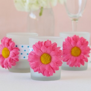 Gerbera Daisy Tealight Holders