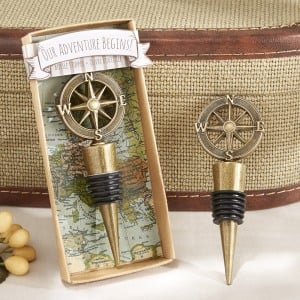 Compass Bottle Stopper