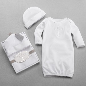 Beautiful Blessings Baby Gown & Cap