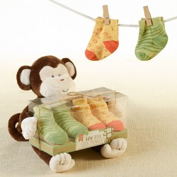My Little Monkey Sock Gift Set