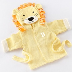 Personalized Lion Hooded Bath Robe