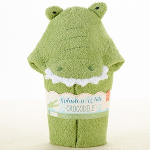 Crocodile Hooded Bath Towel