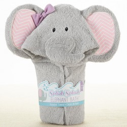 Elephant Hooded Bath Towel
