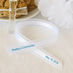 Personalized Sheer Edge Favor Ribbon