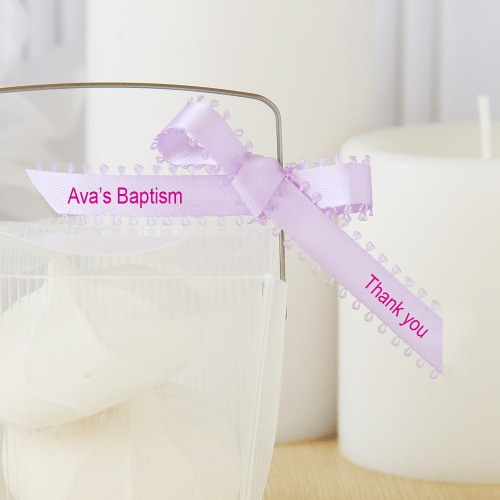 Personalized Picot Favor Ribbon