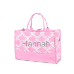 Personalized Harbor Bae Open Tote