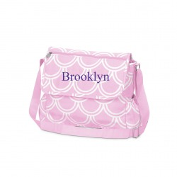 Personalized Harbor Bae Quilted Diaper Bag