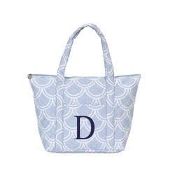 Personalized Harbor Bae Quilted Tote