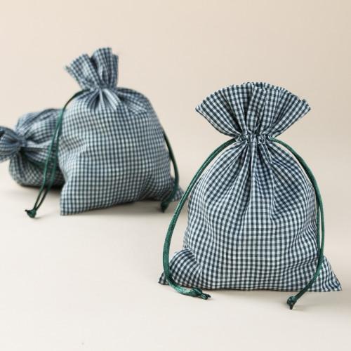 Gingham Bags