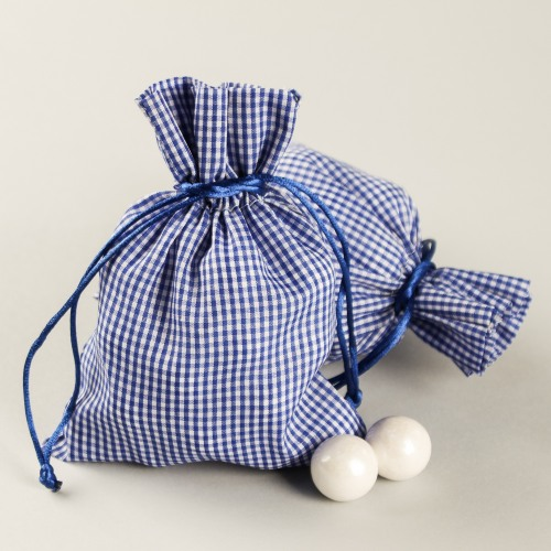 Gingham Favor Bags