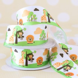 Jungle Favor Ribbon