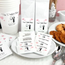 Personalized Bridal Sugar Packets