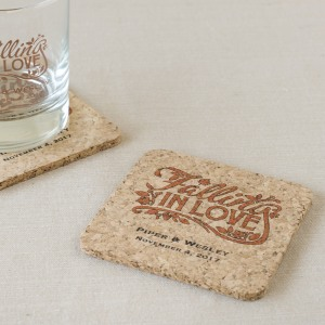 Personalized Cork Coasters