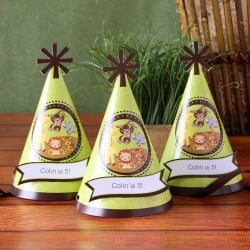 Personalized Birthday Party Hats