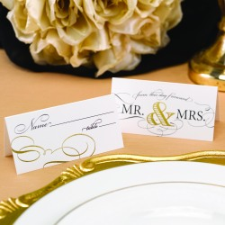 Mr. & Mrs. Place Cards