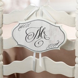 Wedding Chair Sign