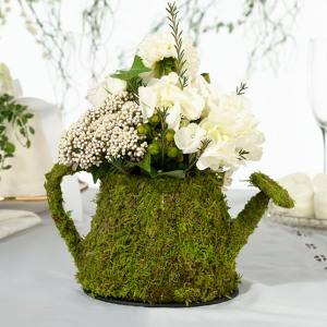 Moss Table Decorations