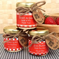 Personalized Bridal Jam Favor
