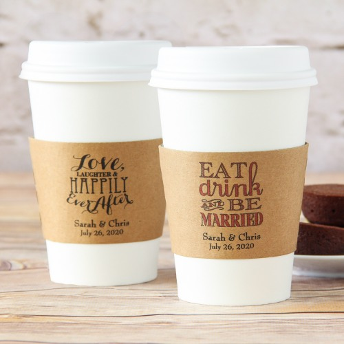 Personalized Coffee Sleeves