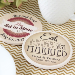 Personalized Stone Coaster