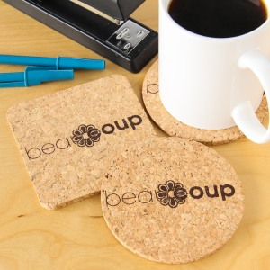 Custom Photo Cork Coasters
