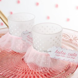 Tutu Votive Candle Holders