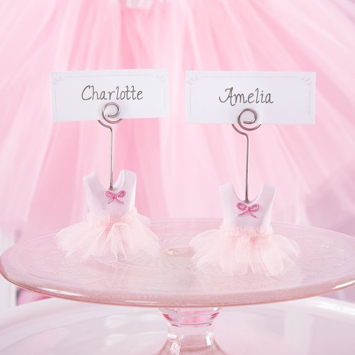Ballerina Place Card Holders