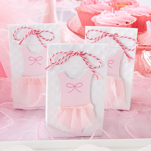 Tutu Baby Shower Party Favor Bags