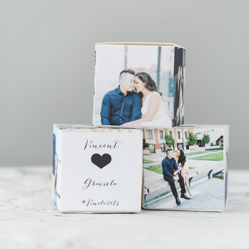 Personalized Photo Favor Box