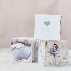 Personalized Baby Shower Photo Favor Box