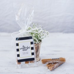 Personalized Caramel Favors