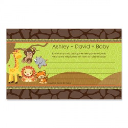 Personalized Baby Shower Advice Cards