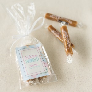 Personalized Baby Shower Caramel Favors