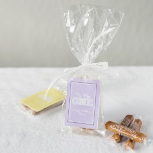Personalized Birthday Caramel Favors