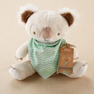 Koala Plush with Bandana Bib Gift Set