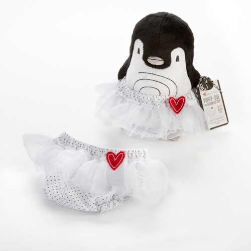 Penguin Plush with Bloomer Gift Set