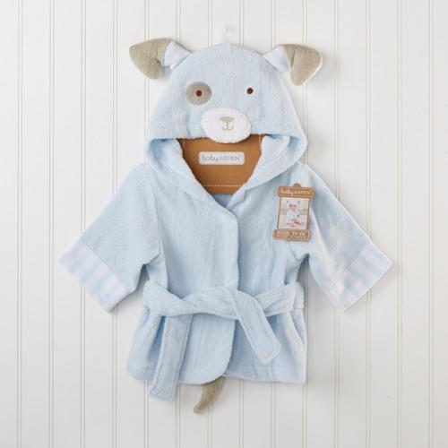 Personalized Puppy Bath Robe