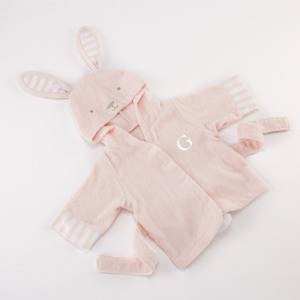 Personalized Bunny Bath Robe