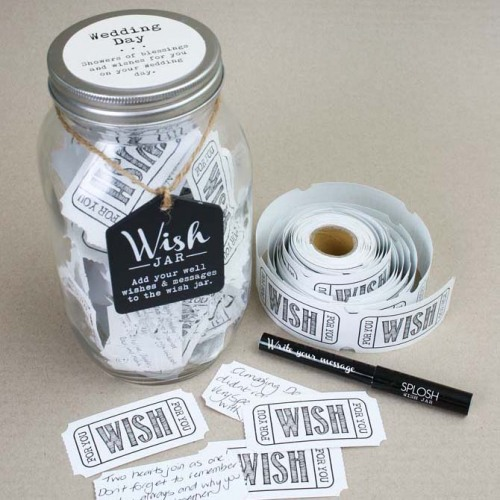 Wedding Day Wish Jar