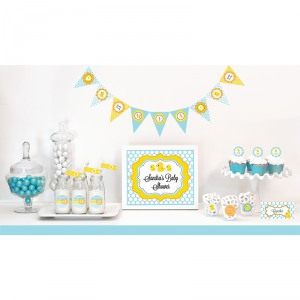 Rubber Ducky Baby Shower Kit