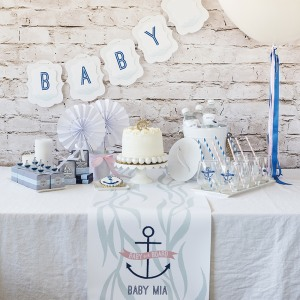 Nautical Baby Shower Kit
