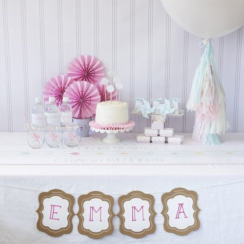 Cute As A Button Baby Shower Kit
