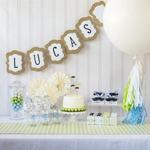 Little Man Baby Shower Kit