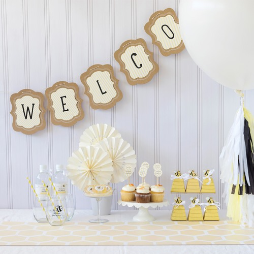 Sweet As Can Bee Baby Shower Kit
