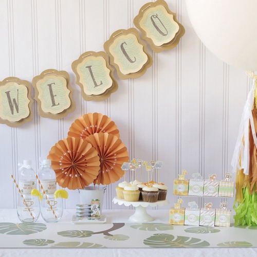 Born To Be Wild Baby Shower Kit