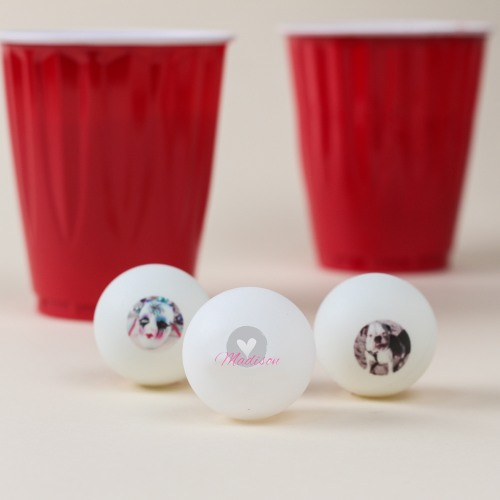 Personalized Ping Pong Balls