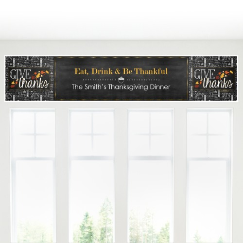 Personalized Holiday Banner