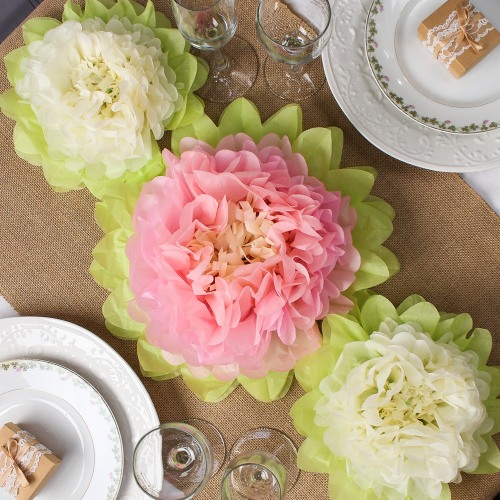 Tissue paper flower decorations tissue paper flowers mightylinksfo